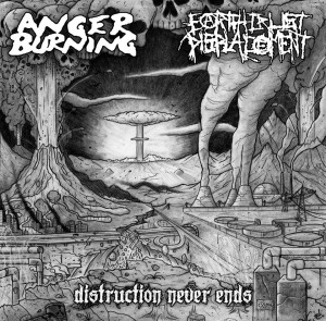 anger burning-earth crust displacement
