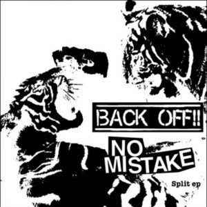back off-no mistake