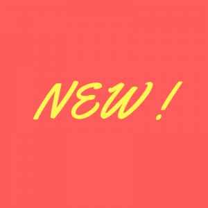 Nouveautés / NEW
